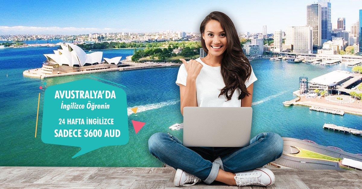 3600 AUD'a Avustralya'da İngilizce Öğrenin