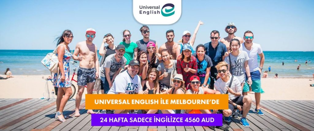 Melbourne'de Haftalık 190 AUD'a İngilizce Öğrenin